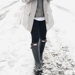 Gray HUNTER rain boots